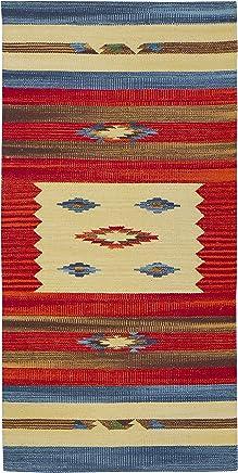 Flair Rugs Teppich 60 cm x 230 cm Jute Mehrfarbig