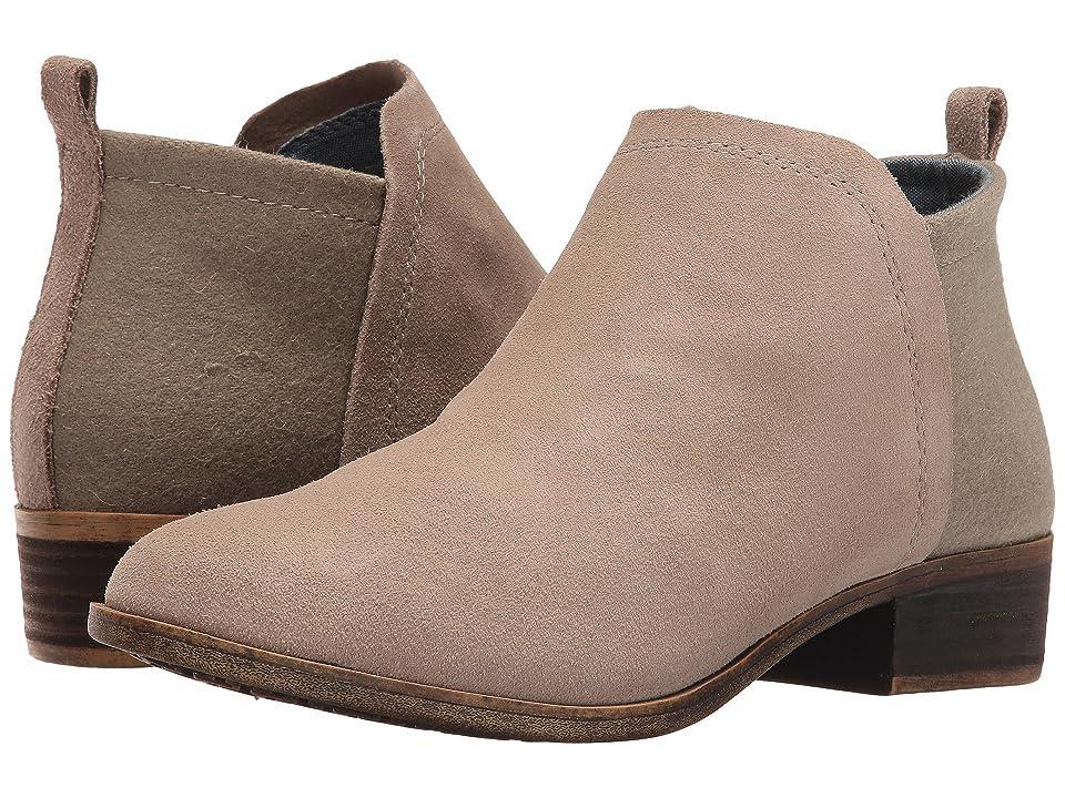TOMS Deia Bootie (Desert Taupe Suede/Wool) Women
