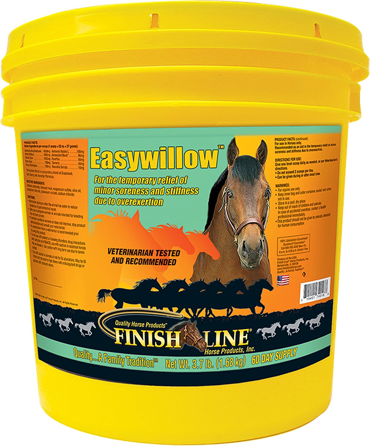 Finish Line Easywillow Pain lbs 3.7 Management Sales 2021 autumn and winter new