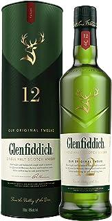 Glenfiddich Single Malt Scotch Whisky 12 Jahre mit Geschenkverpackung 1 x 0,7 l – der am häufigsten ausgezeichnete Malt Scotch Whisky der Welt