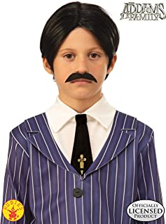 Rubies - The Addams Family Kids Gomez's Wig and Moustache