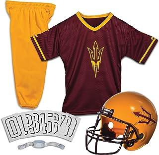 Franklin Sports NCAA Kids Football Uniform Set - NFL Youth Football Costume for Boys & Girls - Set Includes Helmet, Jersey...