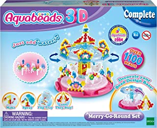 Aquabeads 31364 3D Merry-Go-Round Set, Colourful