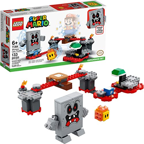 new arrival LEGO Super Mario Whomp's Lava Trouble Expansion Set 71364 Building Kit; Toy for Kids to Enhance Their Super Mario Adventures with outlet sale Mario high quality Starter Course (71360) (133 Pieces) sale