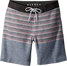 VISSLA Kids - Sofa Surfer Lulls Fleece Shorts