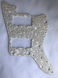 For Japan Jazzmaster Guitar Pickguard Scratch Plate (4 Ply Ivory White Pearl)