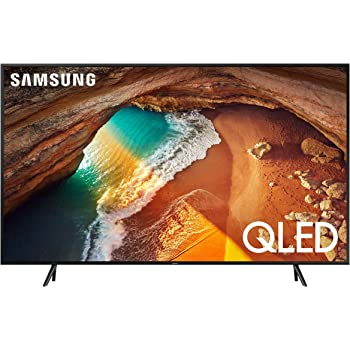 "Samsung QN43Q60RAFXZA Flat 43"" QLED 4K Q60 Series (2019) Ultra HD Smart TV with HDR and Alexa Compatibility"