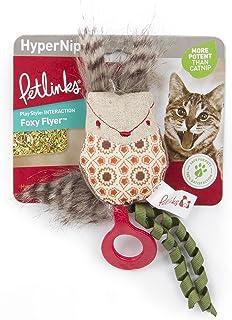 Petlinks 49715 Foxy Flyer Launcher Hyper Nip Catnip Toy