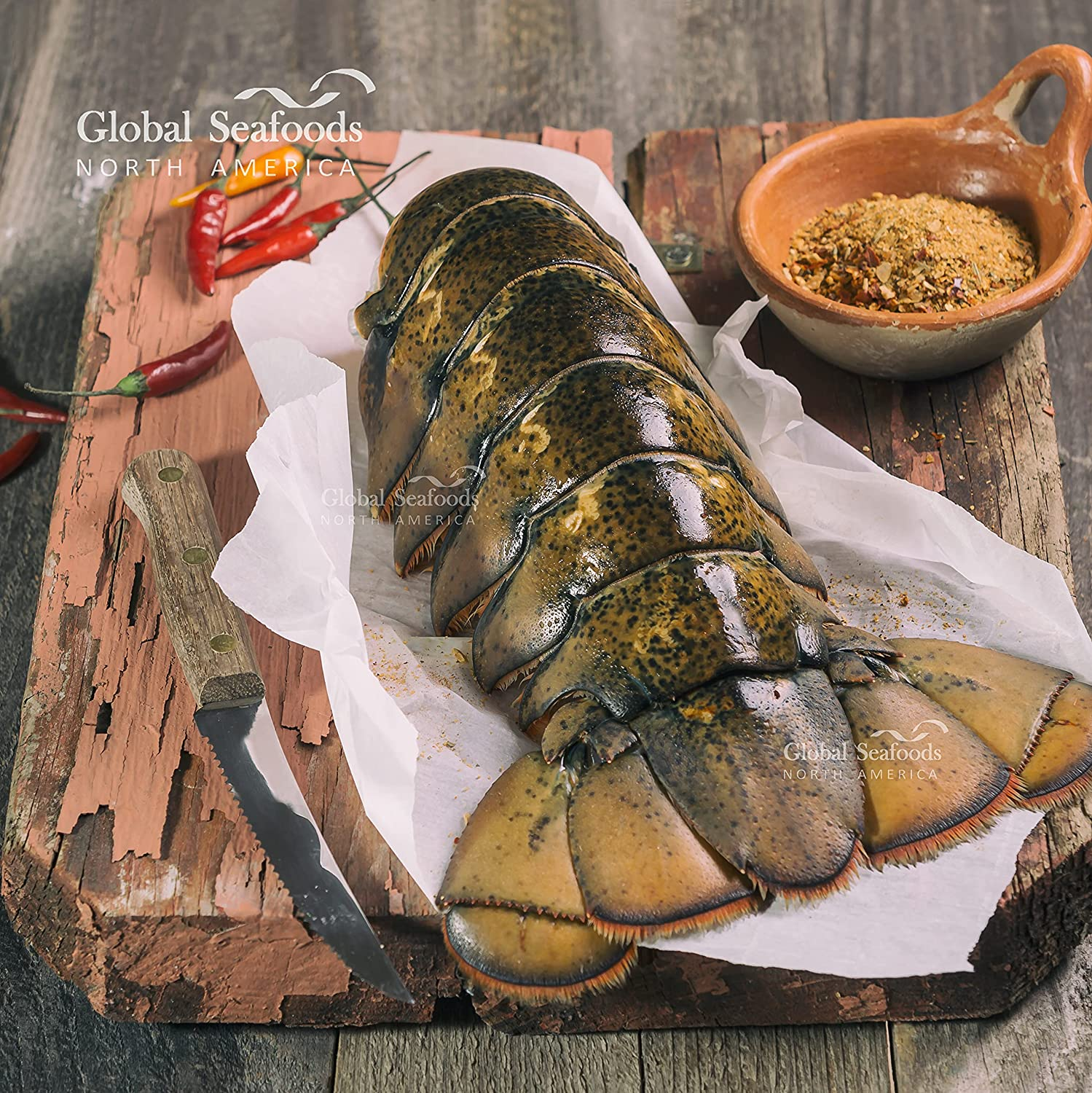 Global Latest item Seafoods - Giant Lobster Tails 20+ C 5 Max 40% OFF oz tail- lbs per