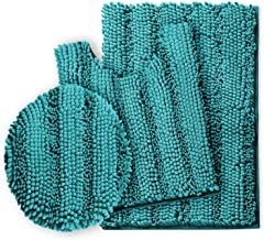 Clara Clark Chenille Mat Extra Soft and Absorbent Machine Wash Dry, Perfect for Tub, Shower and Bath Room, Medium 20X32 / ...