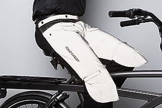 Cicli Bonin Unisex Rainlegs płaszcz przeciwdeszczowy, odblaskowy, jeden rozmiar