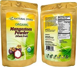 Organic Mangosteen Fruit Powder - 1 lb - Queen of Fruits Superfood Supplement - Natural Source of Antioxidants, Vitamins, & Minerals - Grown In Thailand - Vegan, Non GMO, Gluten Free