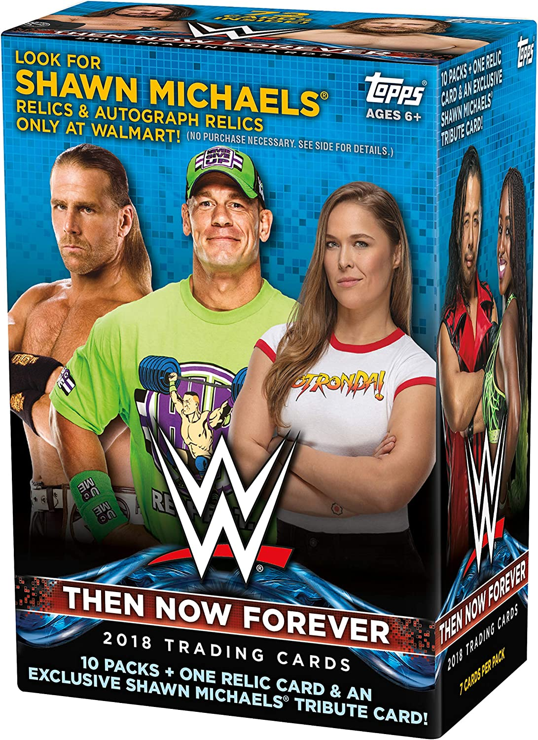 2018 Topps WWE Then Now Forever Value Box