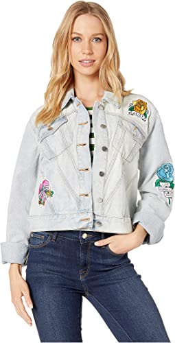 Tattoo Patch Denim Jacket