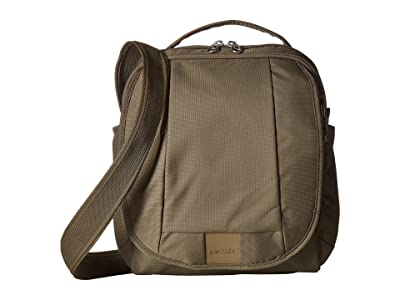Pacsafe Metrosafe LS200 Anti-Theft Shoulder Bag (Earth Khaki) Shoulder Handbags
