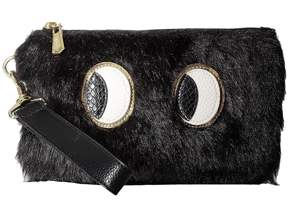 Circus by Sam Edelman Rachael Wristlet w/ Eye Applique (Black) Wristlet Handbags