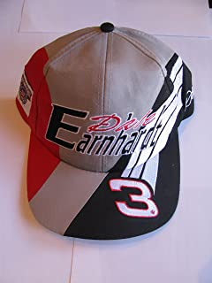 Competitor's View Vintage 1998 Dale Earnhardt Sr #3 Black Red Grey & Silver Accents NASCAR 50th Anniversary Hat Cap One Size Fits Most OSFM with Plastic Snapback Strap