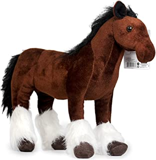VIAHART Charmaine The Shire Horse   18 Inch Large Shire Horse Stuffed Animal Plush Pony   by Tiger Tale Toys