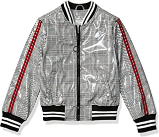 Girls Patent Leather Bomber