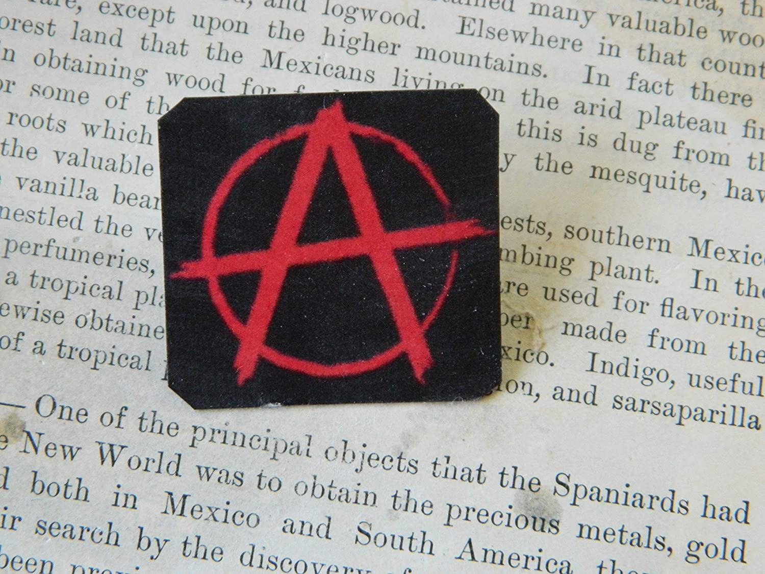 Dealing 2021 full price reduction Lapel Pin Symbol Anarchy