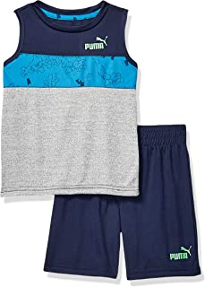 PUMA Toddler Boys' Tank & Short Set
