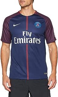 Nike Paris Saint-Germain (PSG) 2017-18 Men Home Stadium Soccer Jersey - Navy Size: Large