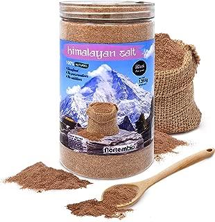Nortembio Sal Negra del Himalaya 1,35 Kg. Extrafina (0,5-1 mm). 100% Naturales. Sin Refinar. Sin Conservantes. Extraídas a Mano