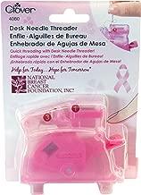 Clover 4080 Desk Needle Threader, Pink
