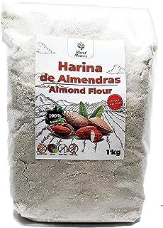 comprar comparacion Harina de Almedras 1Kg – Ideal para Reposteria – Sin Gluten – 100 % Natural y de Origen Nacional – No Transgenica – Molida...