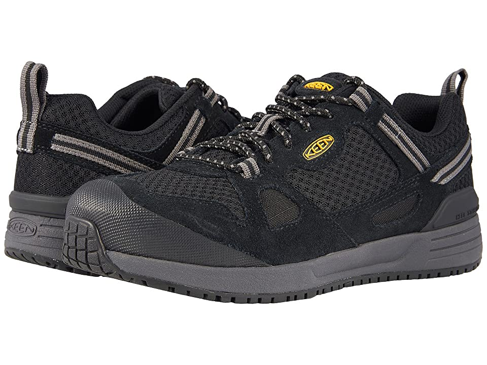 Keen Utility Springfield Aluminum Toe (Black/Steel Grey) Men