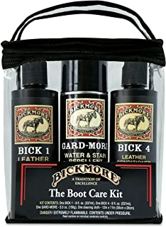 Bickmore Premium Leather Care Kit - Leather Lotion Cleaner Conditioner Protector