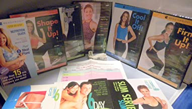 Debbie Siebers Slim in 6 DVD Set & Booklets for Rapid Weight Loss and Healthy Body Slimming: Start It UP, Ramp It UP, Burn It UP, Slim & 6pack, Slim & Limber, Shape It UP, Keep It UP, Firm It UP, Cool It Off