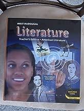 Holt McDougal Literature: Teacher's Edition Grade 11 American Literature 2012