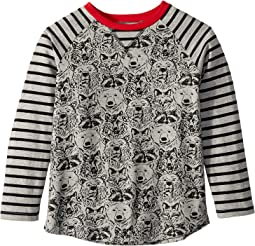 Forest Animals Raglan Tee (Toddler/Little Kids/Big Kids)