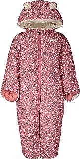 Osh Kosh Baby Girls' Pram Suit with Cozy Lining, Rose Pink/Floral, 6/9MO