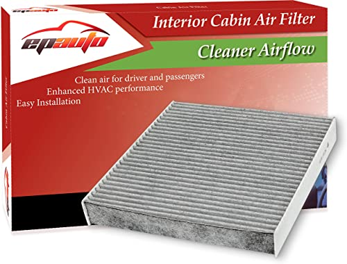 high quality EPAuto CP743 (CF10743) Replacement for Chrysler/Dodge/Infiniti/Nissan/Volkswagen Premium lowest Cabin Air sale Filter includes Activated Carbon outlet sale