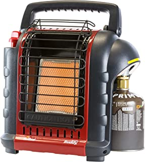 Mr. Heater Portable Buddy Gas Calefacción con Adaptador para Cartuchos de Gas con 7/16de Rosca