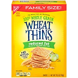 Wheat Thins Crackers (Reduced Fat, 14.5-Ounce Box)
