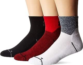 Under Armour Phenom 2.0 Quarter Socks, 3-Pair