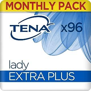 TENA Lady Extra Plus, Compresas - 96 Unidades