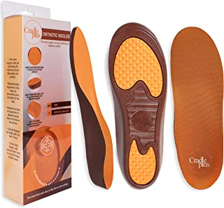 Plantar Fasciitis Shoe Inserts for Women | Arch Support Insoles | 24cm - Size K (6-8) US | Trim to Fit I Kids Orthotic Ins...