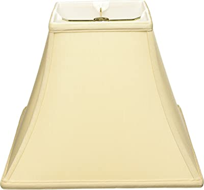 Royal Designs Square Bell Basic Lamp Shade, Beige, 6 x 12 x 10.5
