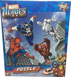 Marvel Heroes Puzzle - 100 Pieces - 10