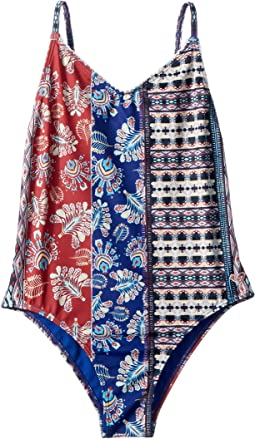 Boheme Life One-Piece Swimsuit (Big Kids)