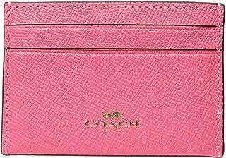 Coach Card Case Pink Ruby