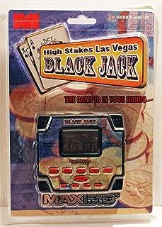 Maximo High Stakes Las Vegas Blackjack Electronic Handheld Game