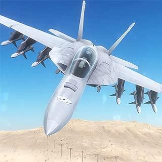 WW2 Air Combat Fighter Jet : F16 Jet Air Flight Strike Warrior 3D