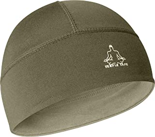 Temple Tape Skull Cap Beanie- Helmet Liner/Running Cap/Thermal Retention Moisture Wicking - Fits Under Helmets