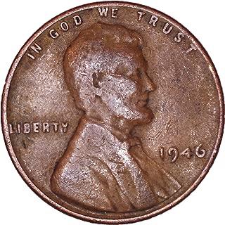 1946 Lincoln Wheat Cent 1C Very Fine