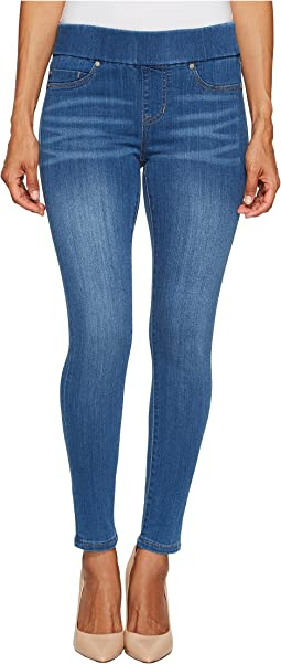Petite Sienna Pull-On Ankle in Silky Soft Denim Coronado Mid